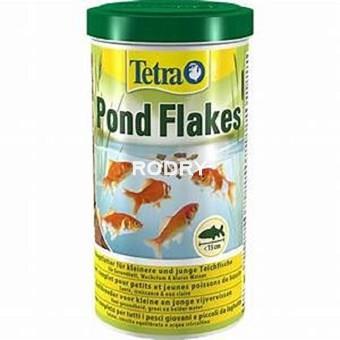 Alimento peces estanque tetra pond flakes 1 y 4 litros for Alimento peces estanque